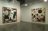 Tal R<br /> <i>Le peintre n'est pas là</i>, 2006<br /> Installation view, Zach Feuer Gallery