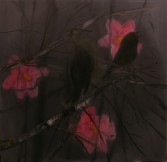 Ann Craven<br /> <i>0Early Morning Silhouette</i>, 2005<br /> Oil on canvas<br /> 60 x 60 inches<br /> 152.4 x 152.4 cm<br />
