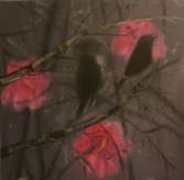 Ann Craven<br /> <i>Early Morning Silhouette</i>, 2005<br /> Oil on canvas<br /> 60 x 60 inches<br /> 152.4 x 152.4 cm<br />