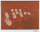 Alisha Kerlin<br /> <i>Acting Independently (fifty/fifty)</i>, 2011<br /> Oil on canvas<br /> 44 x 58 inches<br /> 111.8 x 147.3 cm