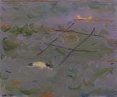 Alisha Kerlin<br /> <i>Milo and Otis</i>, 2011<br /> Oil on canvas<br /> 21 1/2 x 26 inches<br /> 54.6 x 66 cm