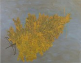 Alisha Kerlin<br /> <i>This Side of</i>, 2011<br /> Oil on canvas<br /> 58 x 74 inches<br /> 147.3 x 188 cm