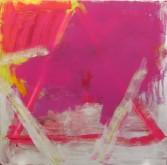 Dana Frankfort<br /> <i>Star of David (light purple/silver)</i>, 2007<br /> Oil on panel<br /> 48 x 48 inches<br /> 121.9 x 121.9 cm<br />