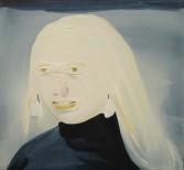 Dana Schutz<br /> <i>Albino</i>, 2002<br /> Oil on canvas<br /> 14.96 x 18.11 inches<br /> 38 x 46 cm