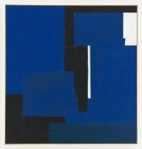 Florian Schmidt<br /> <i>Untitled(Immunity)04</i>, 2011<br /> Acrylic gel, lacquer, vinyl, cardboard, wood<br /> 49.21 x 47.24 inches<br /> 125 x 120 cm <br />
