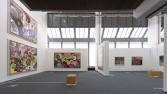 Anton Henning<br /> <i>Antonym</i>, 2009 <br /> Installation view, Wilhelm-Hack Museum<br /> Ludwigshafen, Germany
