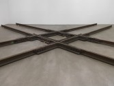 Marianne Vitale<br /> <i>Diamond Crossing</i>, 2013<br /> Installation view, Zach Feuer Gallery