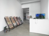 Jon Rafman<br /> <i>You are standing in an open field</i>, 2013<br /> Installation view
