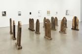 <i>Analia Saban, Aaron Spangler & Marianne Vitale</i><br /> Installation view, 2011