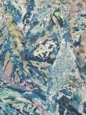 Detail<br /> Johannes VanDerBeek<br /> <i>Leaves</i> (detail), 2014<br /> Aqua-Resin, fiberglass, steel, clay, silicone, paint<br /> 65 x 45 inches<br /> 165.1 x 114.3 cm