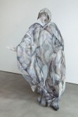 Johannes VanDerBeek<br /> <i>Bohemian Robed Ghost</i>, 2010<br /> Acrylic on aluminum mesh, aluminum wire and glue<br /> 70 x 53 x 41 inches<br /> 177.8 x 134.6 x 104.1 cm