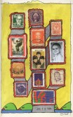 John Evans<br /> <i>July 13, 1984</i> , 1984<br /> Mixed media collage<br /> 8 x 5 inches<br /> 20.3 x 12.7 cm