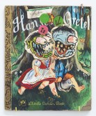 Kristen Morgin<br /> <i>Hansel and Gretel</i>, 2013<br /> Unfired clay, paint, ink, marker<br /> 8 x 7 inches<br /> 20.3 x 17.8 cm