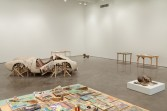 Kristen Morgin<br /> <i>New York Be Nice</i>, 2010<br /> Zach Feuer Gallery, New York, NY<br /> Installation view
