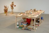 Kristen Morgin<br /> <i>objects for everyone I have ever known</i>, 2008<br /> Marc Selwyn Fine Art, Los Angeles, CA<br /> Installation view