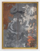Kianja Strobert<br /> <i>Untitled,</i> 2012<br /> Mixed media on paper<br /> 50 x 38 inches<br /> 127 x 96.5 cm