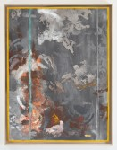 Kianja Strobert<br /> <i>Untitled</i>, 2012<br /> Mixed media on paper<br /> 50 x 38 inches<br /> 127 x 96.5 cm