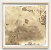 Kianja Strobert<br /> <i>Untitled</i>, 2011<br /> Mixed media on paper<br /> 17.75 x 18.5 inches<br /> 45.1 x 47 cm