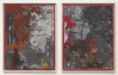 Kianja Strobert<br /> <i>Untitled</i>, 2011<br /> Mixed media on paper<br /> 50 x 38 inches<br /> 127 x 96.5 cm<br /> <br /> Kianja Strobert<br /> <i>Untitled</i>, 2011<br /> Mixed media on paper<br /> 50 x 38 inches<br /> 127 x 96.5 cm