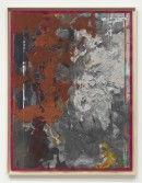 Kianja Strobert<br /> <i>Untitled</i>, 2011<br /> Mixed media on paper<br /> 50 x 38 inches<br /> 127 x 96.5 cm