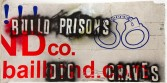 Mark Flood<br /> <i>BUILD PRISONS / DIG GRAVES</i>, 2009<br /> Spray paint on found coroplas sign<br /> 48 x 96 inches<br /> 121.9 x 243.8 cm<br />
