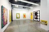 Mark Flood<br /> <i>Chelsea Whores</i>, 2009<br /> Installation view, Zach Feuer Gallery