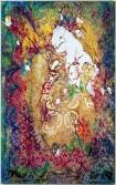 Mark Flood<br /> <i>Duchess</i>, 2009<br /> Acrylic on canvas<br /> 77 x 48 inches<br /> 195.6 x 121.9 cm<br />
