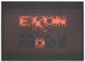 Mark Flood<br /> <i>EXXONMOBIL 4A NEON</i>, 2014<br /> Inkjet print on canvas<br /> 80 x 110 inches<br /> 203.2 x 279.4 cm<br /> <br /> Booth 2.6