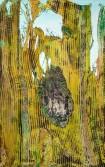 Mark Flood<br /> <i>The Bacchae</i>, 2009<br /> Acrylic on canvas<br /> 96 x 60 inches<br /> 243.8 x 152.4 cm<br />