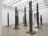 Marianne Vitale<br /> <i>Nine Worthies</i>, 2014<br /> Zach Feuer Gallery, New York<br /> Installation view