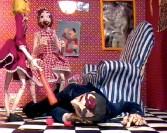 Nathalie Djurberg<br /> <i>Florentin</i>, 2004<br /> Clay animation, digital video<br /> 3:36<br /> Edition of 6<br /> Music by Hans Berg<br />