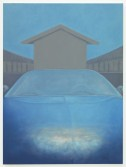 Stuart Hawkins<br /> <i>Skyscape</i>, 2013<br /> Oil on canvas<br /> 72 x 54 in<br /> 182.9 x 137.2 cm