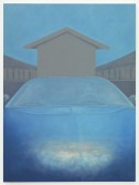 Stuart Hawkins<br /> <i>Skyscape</i>, 2013<br /> Oil on canvas<br /> 72 x 54 inches<br /> 182.9 x 137.2 cm