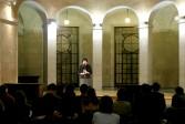 Tamy Ben-Tor<br /> <i>Hip Hop Judensau America</i>, 2006<br /> Performance, Associazione Mutilati e Invalidi di Guerra<br /> Rome, Italy