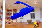 Jon Rafman<br /> <i>Yves Klein Jet Ski</i>, 2012<br /> <br /> Installation view<br /> <i>BNPJ MMXII</i>, 2012<br /> American Medium, New York, NY
