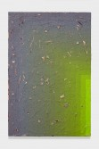 Julian Hoeber<br /> <i>Execution Changes #86B (NS, Q1, LRJ, LC)</i>, 2014<br /> Acrylic on linen<br /> 42 x 28 x 2 inches<br /> 106.7 x 71.1 x 5.1 cm
