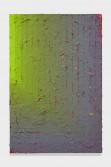 Julian Hoeber<br /> <i>Execution Changes #86A (NS, Q1, LRJ, LC)</i>, 2014<br /> Acrylic on linen<br /> 42 x 28 x 2 inches<br /> 106.7 x 71.1 x 5.1 cm