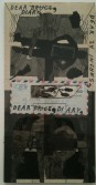 Ray Johnson<br /> <i>Untitled</i><br /> Collage<br /> 21.5 x 11 inches<br /> 54.6 x 27.9 cm